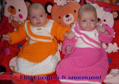 №162 Алиса и Алеся, родились 23.08.2013
