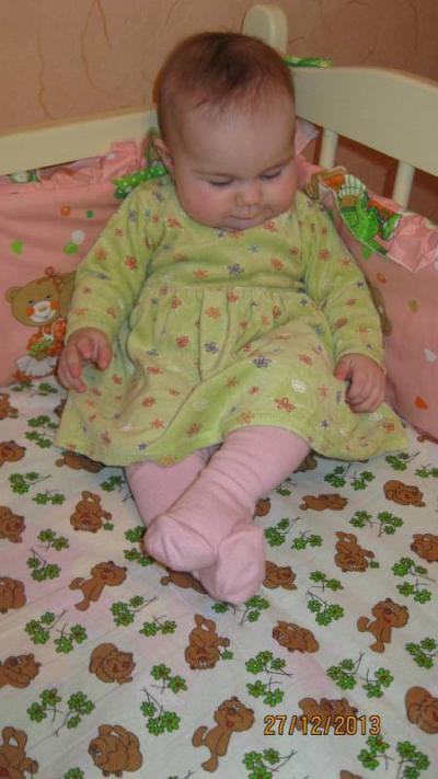 №186 Ульяна, 7 месяцев