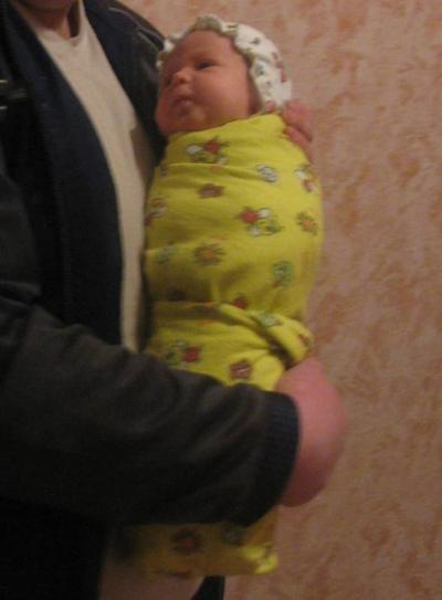 №188 Меня зовут Арсений,мне 1 месяц