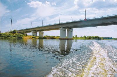 мост через реку Березина