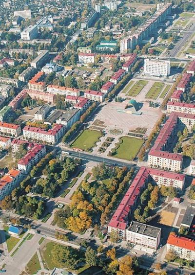 г.Бобруйск (вид сверху)